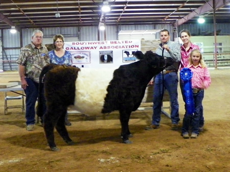 Southwest Belted Galloway Association photo
